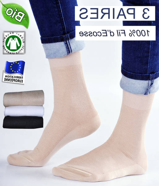 Meilleures Chaussettes bio made in france / chaussettes hautes bio 2020 67